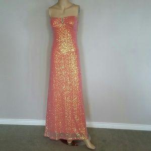 Deb size medium prom dress